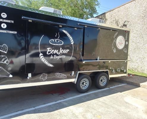 custom food truck decal
