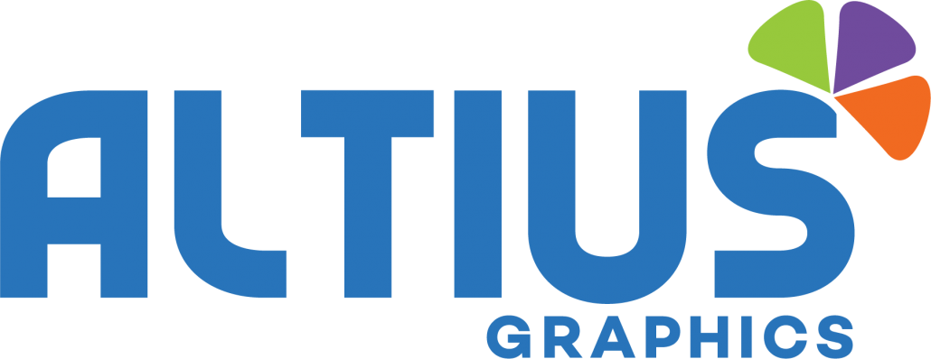 ALTIUS Graphics logo located in Houston, Texas