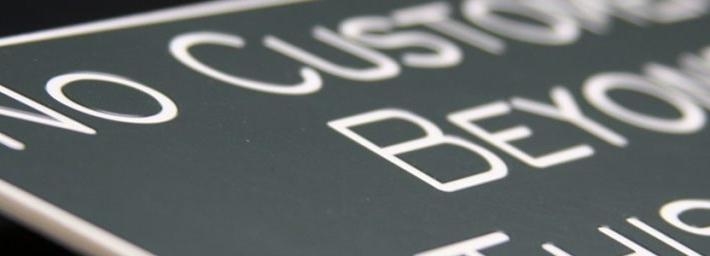 custm engraved signage