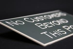 custom engraved signage