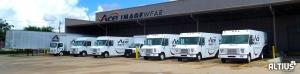 custom van fleet graphics