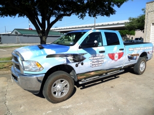 HOUSTON TRUCK WRAP & PICK-UP WRAP