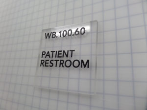 tactile signage