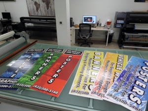 banners and posters