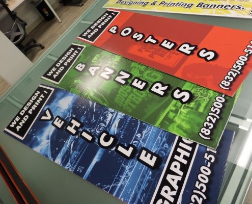 poster signage