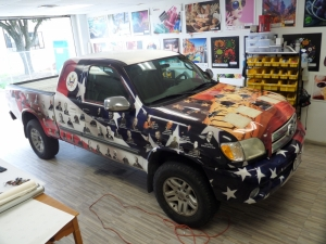 custom truck wrAP HOUSTON