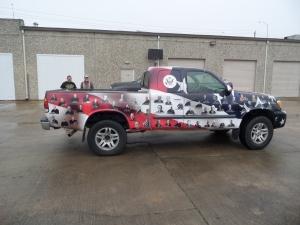 custom truck wrap