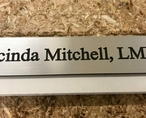 custom engraved sign