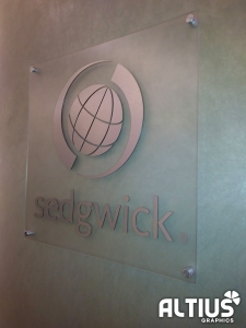 frosted vinyl sign frosted glass