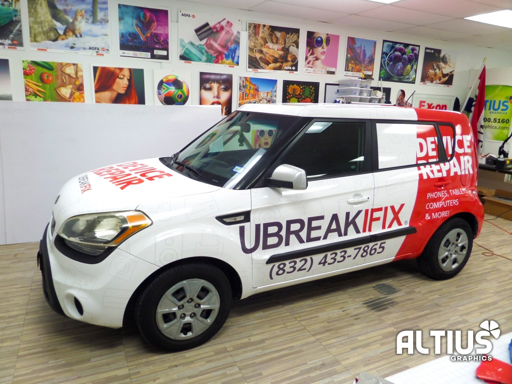 vehicle graphic car graphic fleet wrap